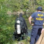 State Police Dive Teams Search Quarries Near Schuyler : 9.25.09