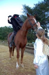 Help the headless horseman find his head again this year!