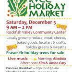 RVCC Holiday Community Market : December 5, 2009 @ 9AM