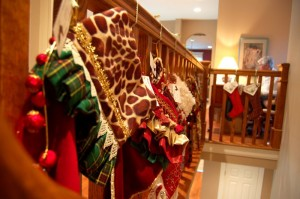All sorts of crafts and holiday fare decorated the Macik home, many on sale to benefit WPA.