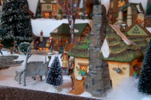 It is an unbelieveable and extensive Dickens Village display!