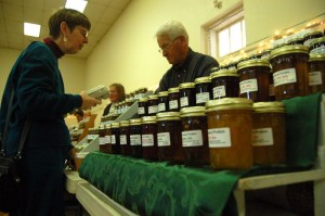 All kinds of homemade jams, jellies and preserves were just some of what could be found at the market.