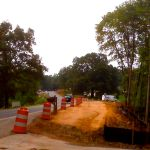 Work Continues On 151 Intersection : 7.29.10