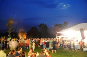 Photo By Paul Purpura : ©2010 www.nelsoncountylife.com : A shot from last month's Starry Nights @ Veritas Vineyard & Winery.