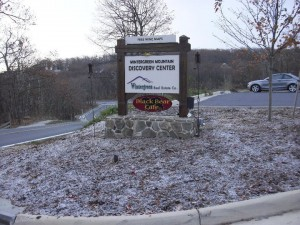 Photo Courtesy Of Wintergreen Real Estate Company : A light dusting of snow fell Saturday morning up at Wintergreen. November 6, 2010