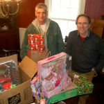 Generous Christmas Donations For Two Nelson Familes