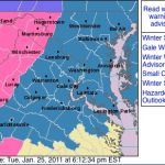 Winter Storm Watches & Warnings Posted Across Area