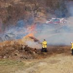 High Winds Keep Fire Crews Busy
