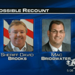 Bridgwater Files For Recount In Nelson Sheriff's Race Against Brooks