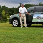 Hole In One Winner At Habitat Golf Tourney Snags Subaru Outback!