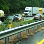 Tractor Trailer Accident Halts 29 N Traffic Near Nelson-Albemarle Line Monday Afternoon