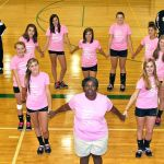Breast Cancer Awareness Month Holds Special Meaning For NCHS JV Volleyball Team & Coach