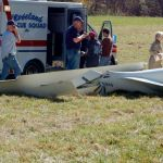 Roseland: Glider Crashes On Takeoff : Pilot Injuries Minor : Updated 9PM