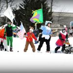 Mardi Gras On The Slopes At Wintergreen Resort