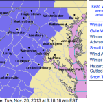 Winter Weather Advisories In Effect Much Of The Blue Ridge Area - Canceled