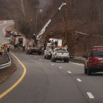 Albemarle: Major Tractor Trailer Accident On Route 29 Slows Traffic : Cuts Power To Some