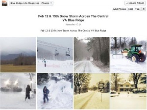 See more pics of the snowstorm in our Facebook album. Click on the thumbnail images above to take a look.