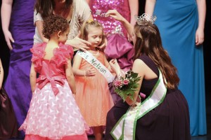 Jemma Browning, age 2 was crowned Wee Miss Nelson County.