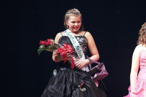 Lex Brooke Holsapple, age 11 was crowned Pre Teen Miss Nelson County