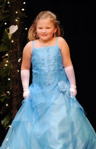 Autumn Baker was crowned Tiny Miss Nelson County