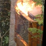 Lightning Strike Causes Fire At Wintergreen Home