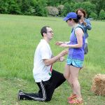 Rockfish Red 4Miler & DB Adventures Steepchase 5 & 10K - A Marriage Proposal & A Deer On The Trail