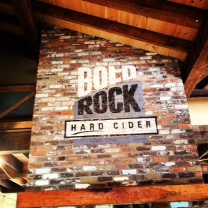 The multi-million dollar construction at Bold Rock shows off some very impressive architecture and branding.