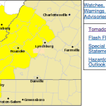 Tornado Watch For Counties Amherst South / West Until 3AM - !Canceled!