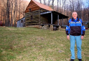 ©2008-2014 Blue Ridge Life Magazine : Photo By Tommy Stafford : Robert Mansfield of Beech Grove in Nelson County, VA (seen in our March 2008 photo) passed away on September 27, 2014. He was the founder of the Piney Mountain Ministries.