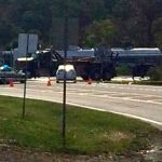 Nelson / Albemarle : Routes 151 & 250  Reopen After Large Milk Truck Spill - Updated 1:00 PM