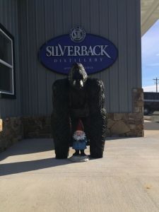 Looks like the gnome met his match Saturday afternoon at Silverback!