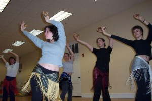 Yes. We. Did. One of our first stories was on belly dancing. Tommy shot this story (tough assignment but someone had to do it!) Joy Rayman in the foreground is joined by her belly dancing friends in this April 2005 story from our very first issue.