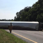 Tractor Trailer Wreck Closes Route 29 South