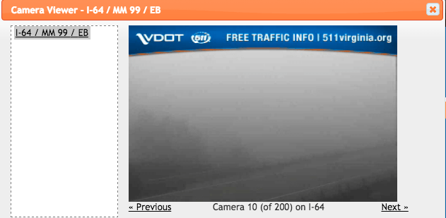 Foggy Conditions Cause Numerous Traffic Accidents On Afton Mountain