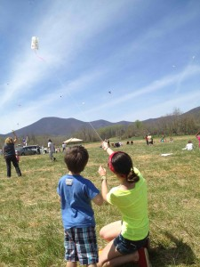 The annual Rockfish Valley Kite Festival is this Sunday - April 10, 2016 kicking off at 11AM.