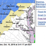 Frost Advisory For Areas Just West Of The Parkway : 2AM until 9AM Tuesday