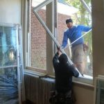 Nelson : New Windows Going In At RVCC