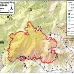WILDFIRE UPDATES : Latest Maps Showing Area Of FIres In Nelson & Amherst