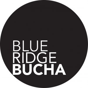 Above, the new Blue Ridge Bucha logo that will replace the old Barefoot Bucha logo.
