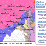 Winter Weather Advisories - Canceled Or Downgraded
