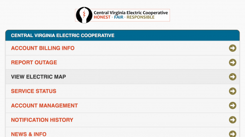 New Feature Estimated Power Restoration Times For Cvec Members