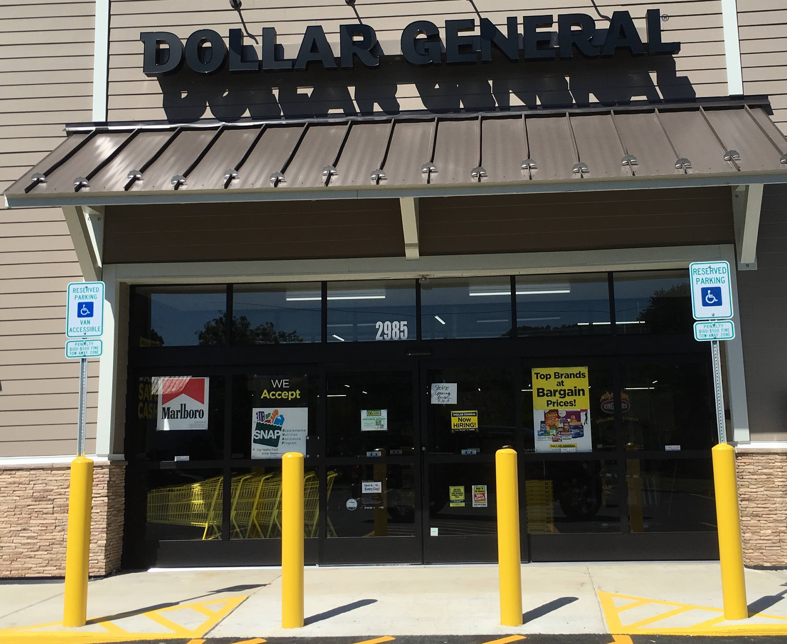 Typically, Dollar General is open Monday through Friday 8am to 9pm. In the event a holiday falls on the weekday, the hours of operation will change. Weekends: Dollar General is .