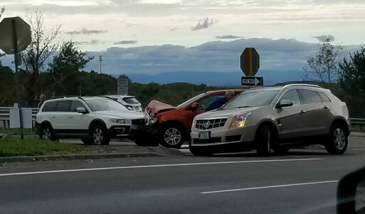Afton Mountain : Crews Work To Clear Morning Accident On