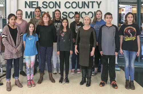 Lovingston : Virginia Master Naturalists Award Grant To Nelson Middle School  Ecology Club