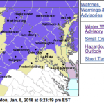 Winter Weather Advisories Continue Into Monday Evening For Some Of Blue Ridge (EXPIRED)