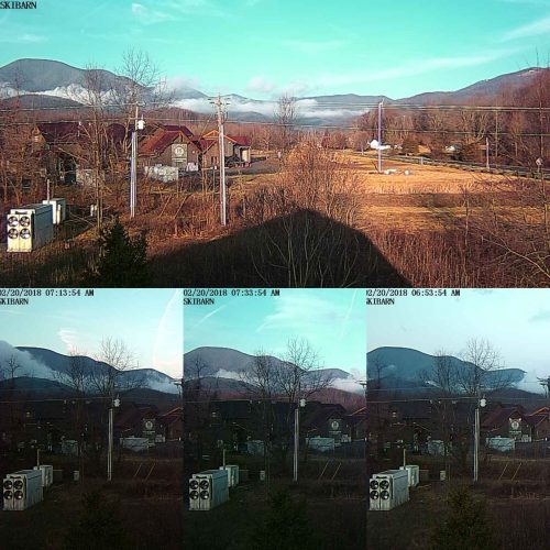 The Blue Ridge Wakes Up On Our BRL-SkiBarn Webcam
