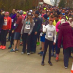 Nelson : Nellysford : Hundreds Turnout For Be Bold 4 Miler In Spite Of Winter Weather