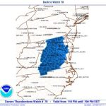 SEVERE THUNDERSTORM WATCH : ( EXPIRED )