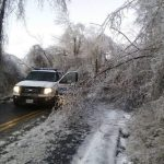The Day After : Ice Storm Takes Take Down Many Trees - Closes Roads