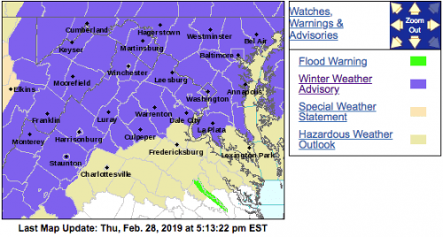 Winter Weather Advisory : Replaced With Updated Advisory